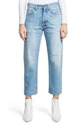 PRPS Super Relaxed Crop Straight-Leg Boyfriend Jeans
