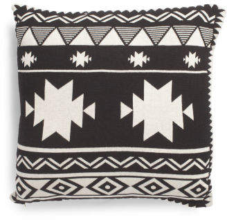 Made In India 20x20 Antlers Pillow