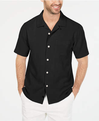 Tommy Bahama Men Weekend Tropics Silk Shirt