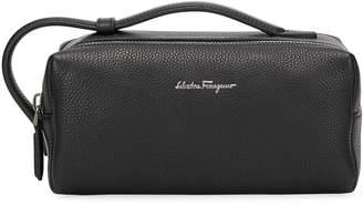 Salvatore Ferragamo Men s Firenze Leather Toiletry Bag db0a30fd77