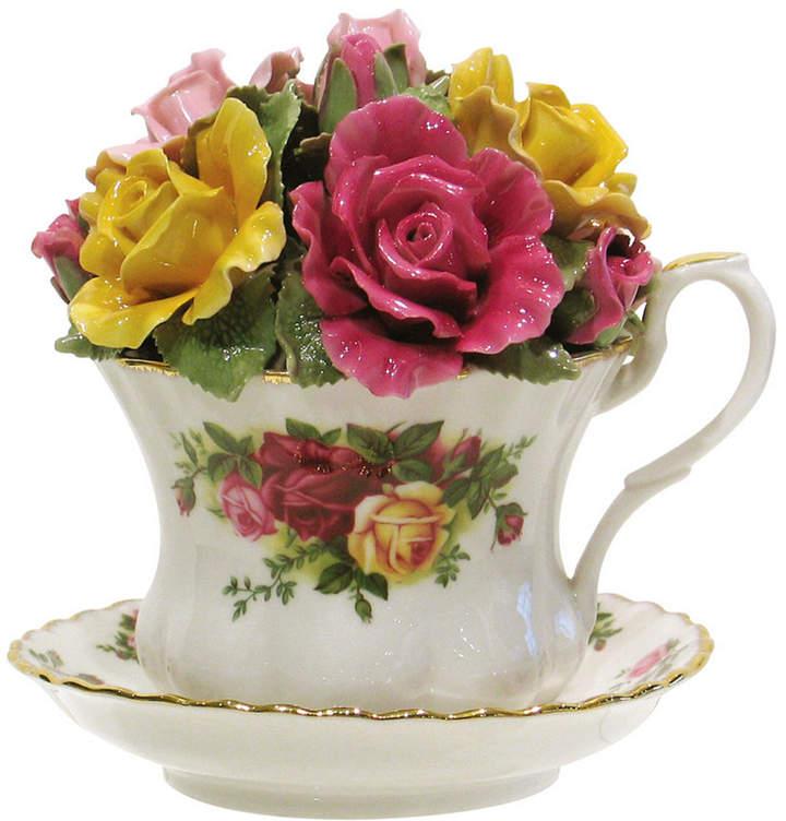 Royal Albert Old Country Roses Musical Tea Cup