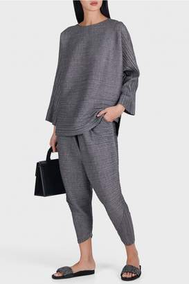 Pleats Please Issey Miyake Warm Bounce Tapered Trousers