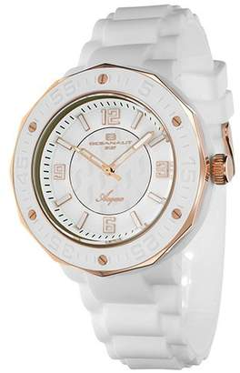 Oceanaut Women's OC0217 Acqua Stainless Steel Watch with Rubber Band