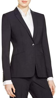 BOSS Jabina Stretch Wool Blazer