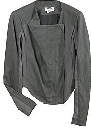 Helmut Lang Soft Draped Leather Jacket