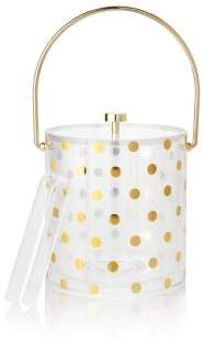 Kate Spade Raise A Glass Polka Dot Ice Bucket