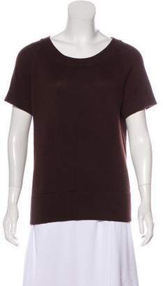 Bottega Veneta Cashmere Short Sleeve Sweater