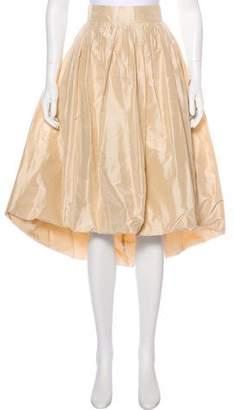 Alexis Silk Midi Skirt