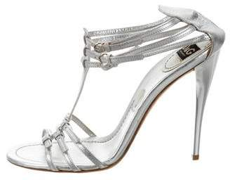 D&G Metallic Multistrap Sandals free shipping very cheap buy cheap fast delivery official site with paypal free shipping discount marketable cfcj1o0sqC