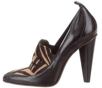 Derek Lam Leather Pointed-Toe Pumps