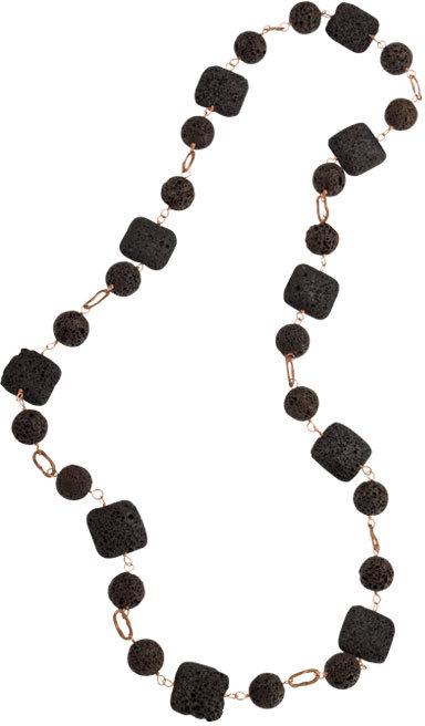 Volcanic Stone Necklace by Uzca