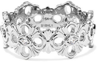 Buccellati Opera Eternelle 18-karat White Gold Diamond Ring