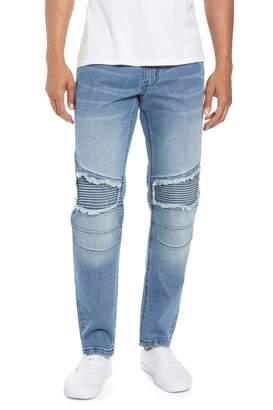 The Rail Skinny Moto Jeans