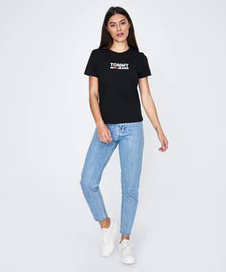 Tommy Jeans TJW Corp Logo T-Shirt Black