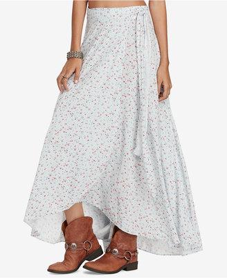 Denim & Supply Ralph Lauren Floral-Print Maxi Skirt $98 thestylecure.com