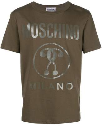Moschino foiled logo T-shirt