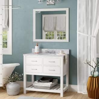 "Willa Arlo Interiors Rishaan 37"" Single Bathroom Vanity Set Base"