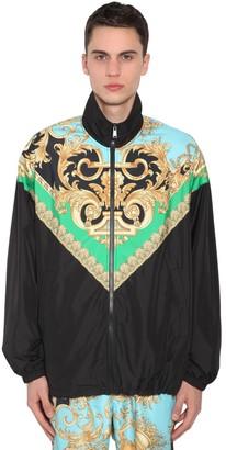 Versace Heritage Print Nylon Track Jacket