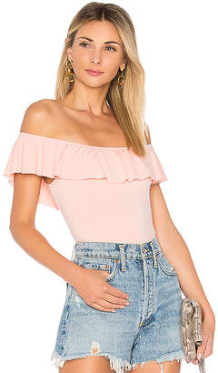 by the way. Cecile Ruffle Bodysuit