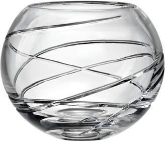 Lenox Adorn Crystal 6.4In Rose Bowl