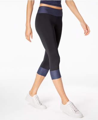 Macy's Ideology Rapidry Colorblocked Capri Leggings, Created for