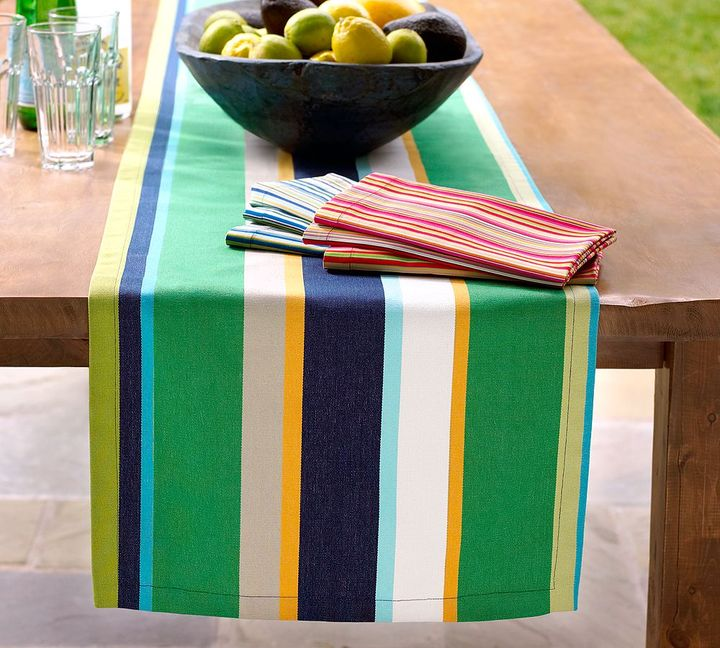 Fiesta Bold Stripe Outdoor Table Runner
