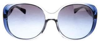 Prada Gradient Oversize Sunglasses
