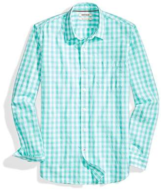 Goodthreads Men's Slim-fit Long-Sleeve -Scale Gingham Shirt