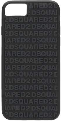 DSQUARED2 Iphone 6 Black Rubber Cover