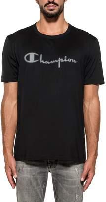 Paolo Pecora Black Printed Cotton Jersey T-shirt
