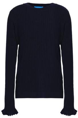 MiH Jeans Ribbed Cashmere And Merino Wool-Blend Sweater