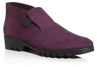 Arche Women's Jimara Almond-Toe Slip-On Booties