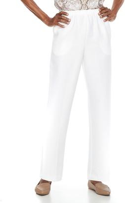 Alfred Dunner Petite Studio Pull-On Pants