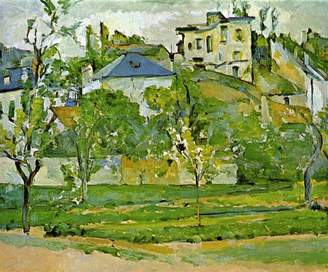 Cezanne The Museum Outlet - Fruit Garden in Pontoise by Poster Print Online Buy