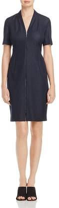 T Tahari Madeline Zip-Front Dress $128 thestylecure.com