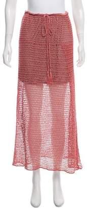 Anna Kosturova Crochet Midi Skirt w/ Tags
