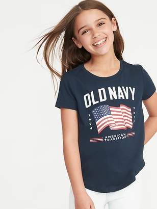8edb46e4 Old Navy 2019 Flag Graphic Tee for Girls