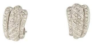 Damiani 18K Diamond Earrings