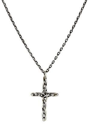 Dean Harris Men's Cross Pendant Necklace