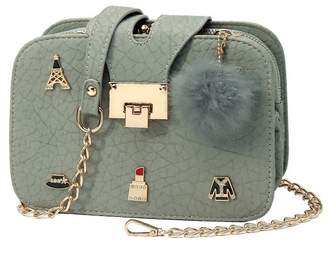 Shein Pom Pom Decor Chain Bag