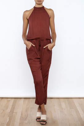 Honeybelle honey belle Rust Jumpsuit
