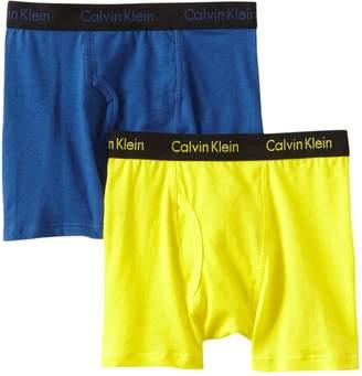 Calvin Klein Little Boys' 2Pk Boxer Briefs 3