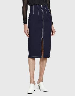 Farrow Adette Pencil Skirt in Navy