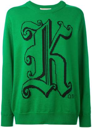 Christopher Kane crew neck sweater