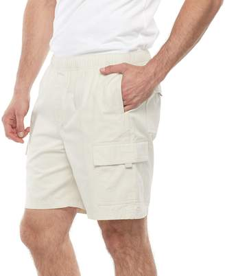 Croft & Barrow Big & Tall Regular-Fit Twill Elastic Cargo Shorts