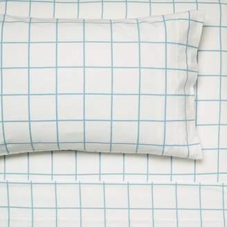 Hiccups Blanky Flannelette Sheet Set, Blue, Single