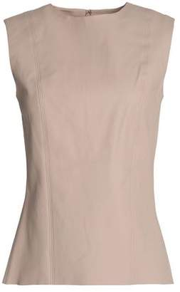 Helmut Lang Stretch-Leather Top