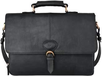 Hidesign PB-001 Parker Leather Medium Briefcase