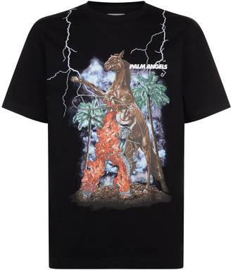 Palm Angels Western Motif T-Shirt