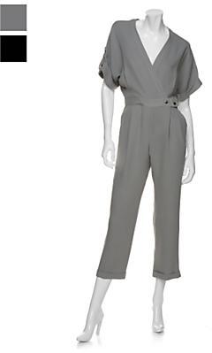 Marley Silk Wrap Jumpsuit